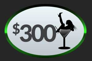 $300 Club 390 Money