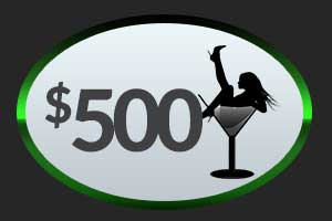 $500 Club 390 Money